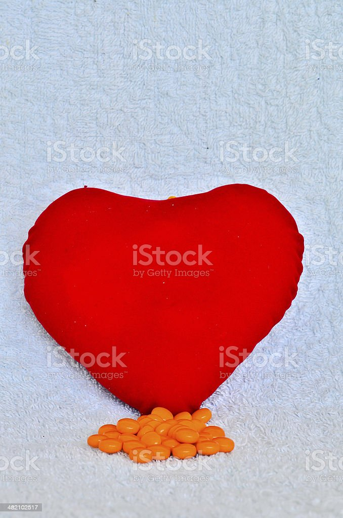 Prescription Heart Medication stock photo