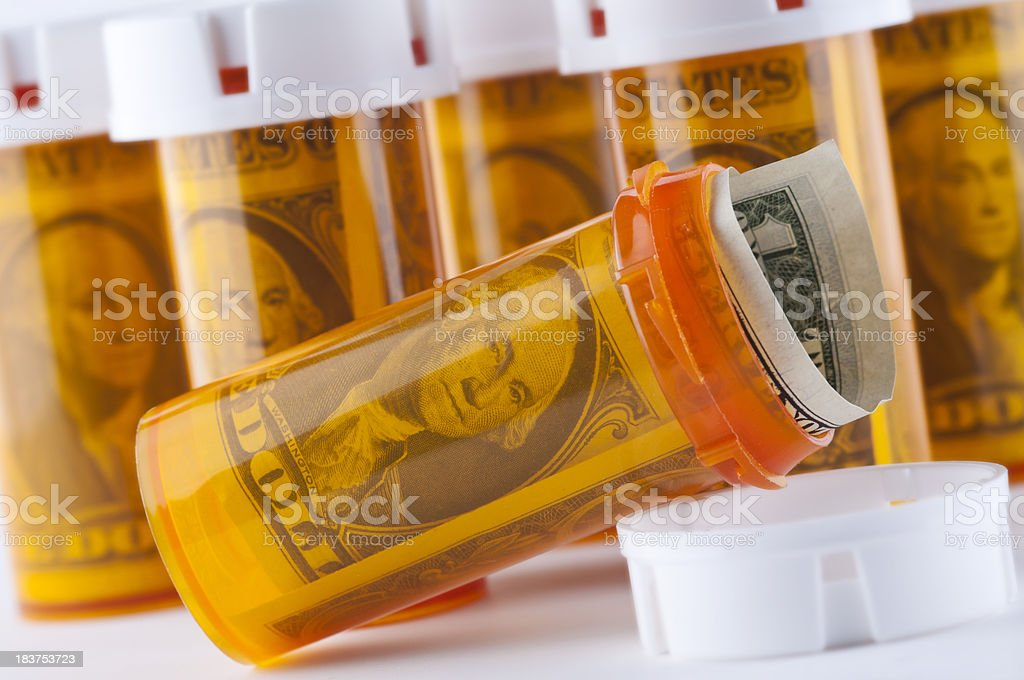 Prescription Medical Expenses stock photo