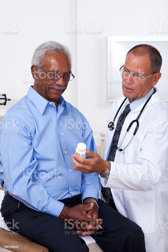 Prescription Medication Consultation royalty-free stock photo