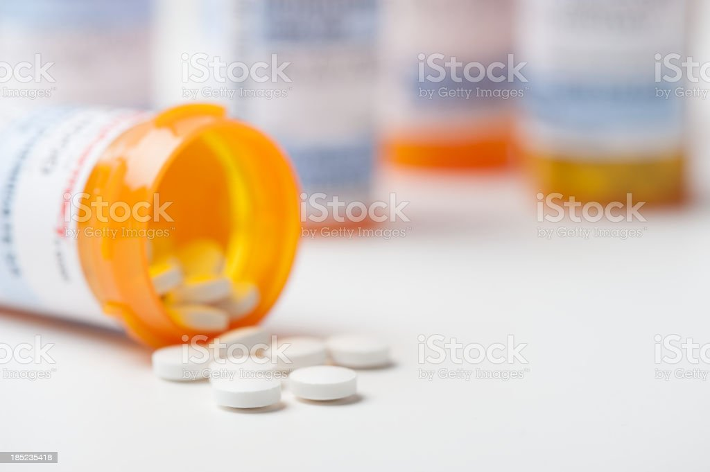 Prescription Medication Medicine Pill Tablets stock photo