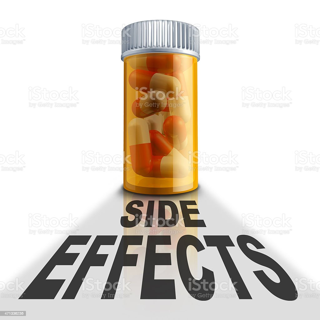 Prescription Medication Side Effects stock photo