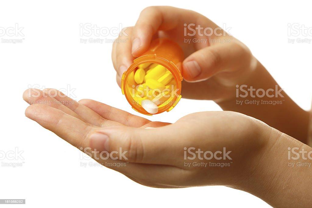 Prescription medicine royalty-free stock photo