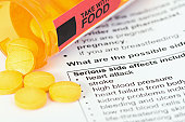 Prescription Medicine with Serious Side Effects