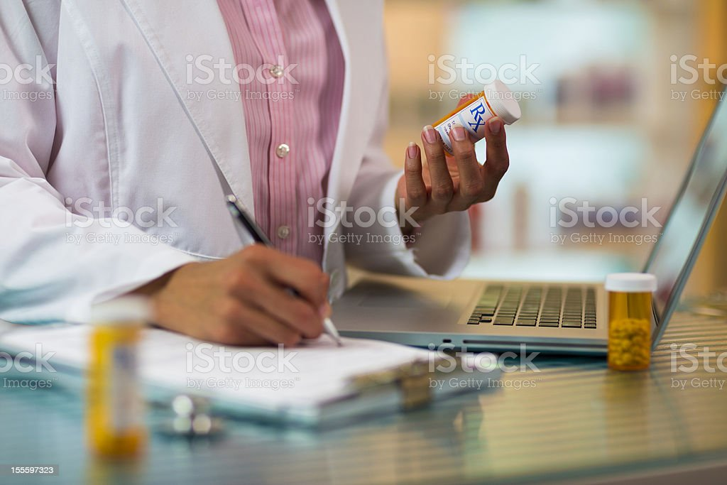 Prescription. royalty-free stock photo