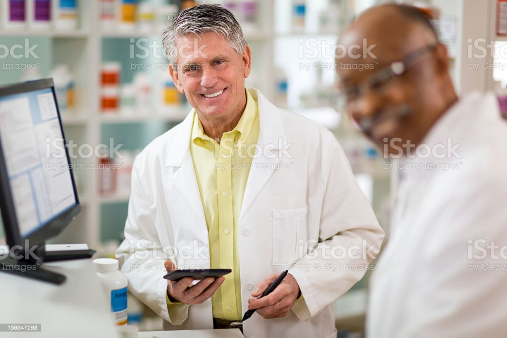 Prescription royalty-free stock photo