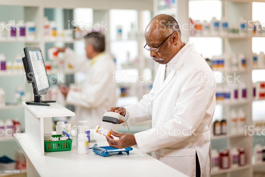 Prescription. stock photo