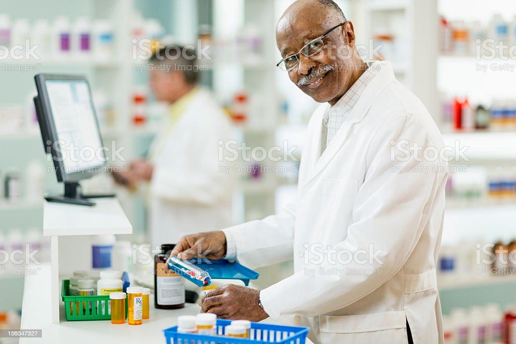 Prescription royalty-free stock photo