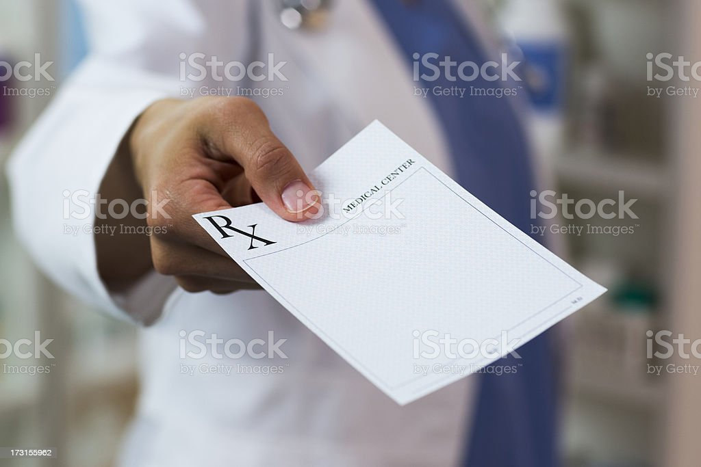 RX Prescription stock photo