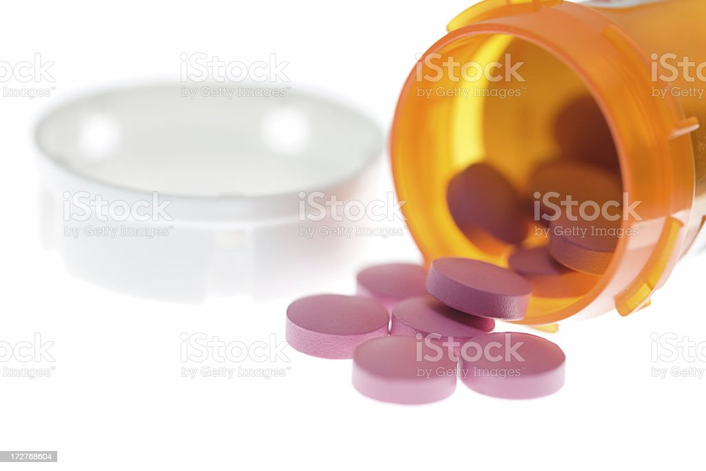Prescription Pills royalty-free stock photo