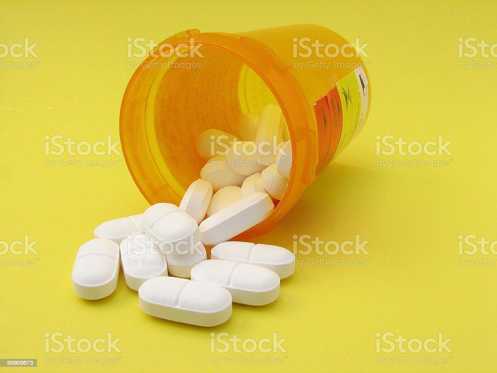 Prescription Pills royalty-free stock photo