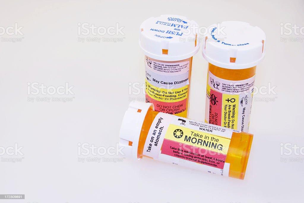 Prescription Warning royalty-free stock photo