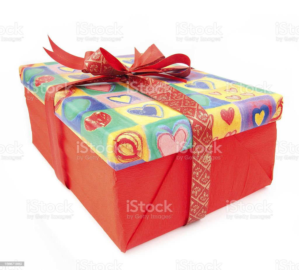 Present Box royalty-free stock photo