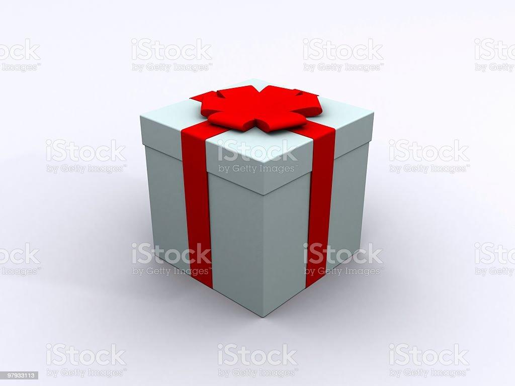Present box royalty-free stock photo