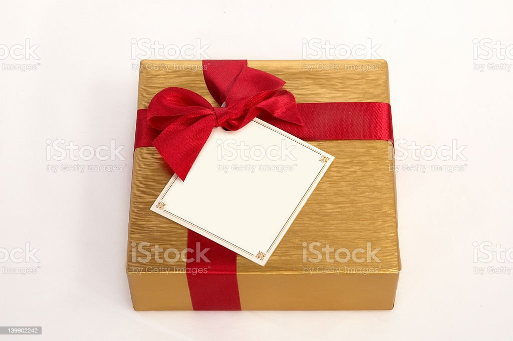 Present for any occasion royalty-free stock photo