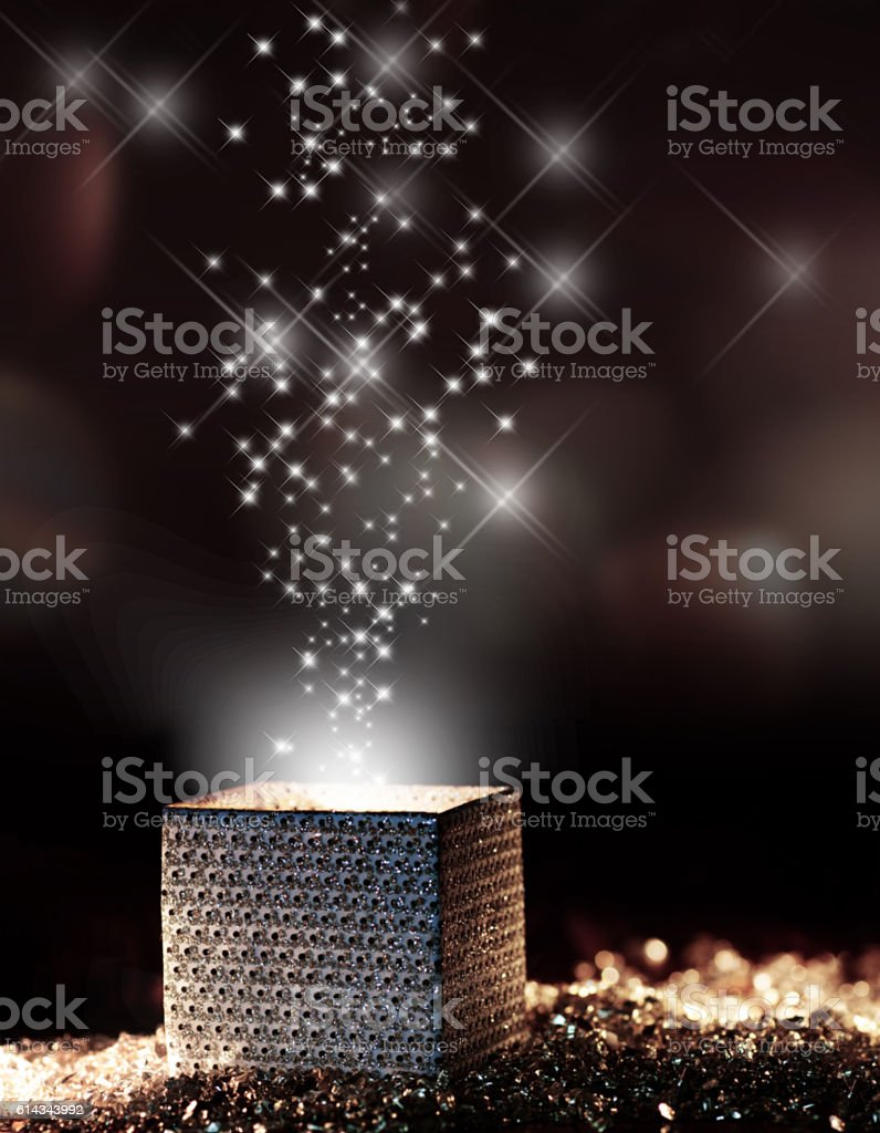 Present for dreaming stock photo