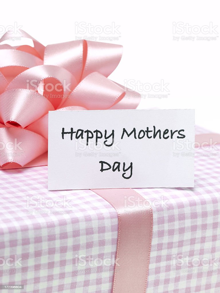 Present for Mum royalty-free stock photo
