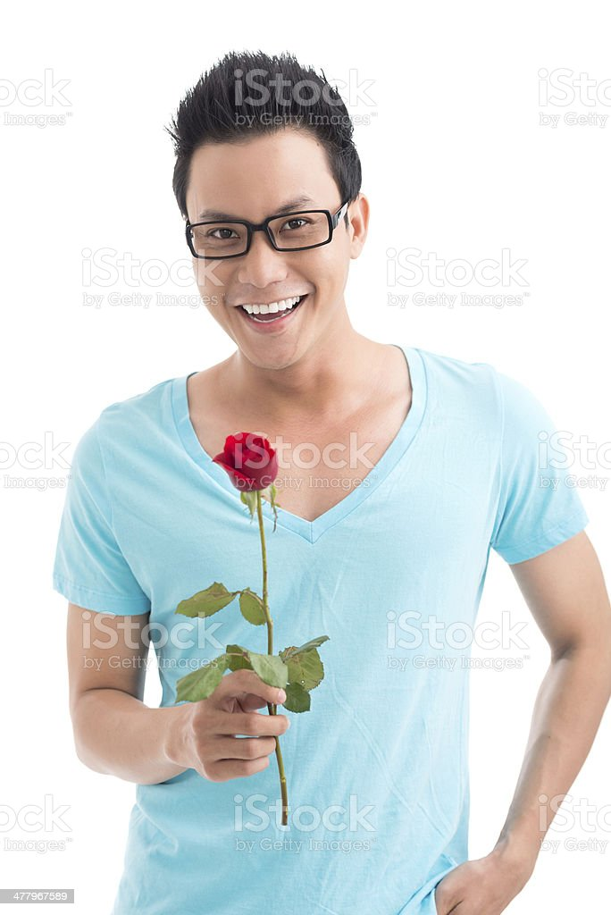 Present for sweetheart royalty-free stock photo