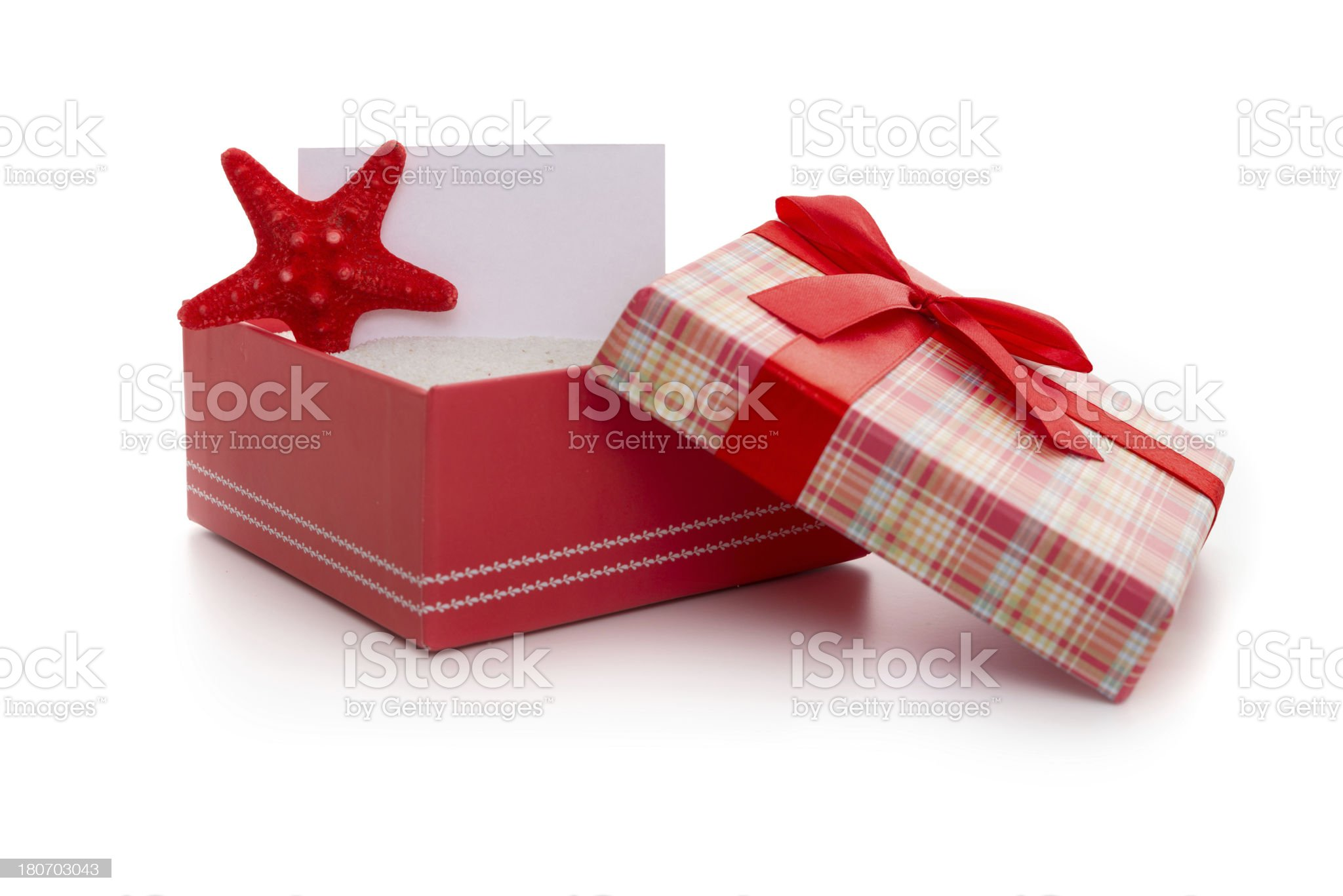 Present from beach royalty-free stock photo