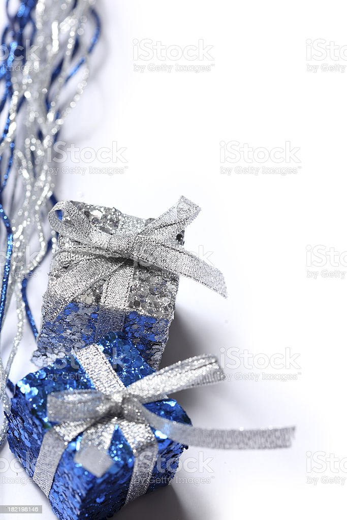 Present on white background royalty-free stock photo