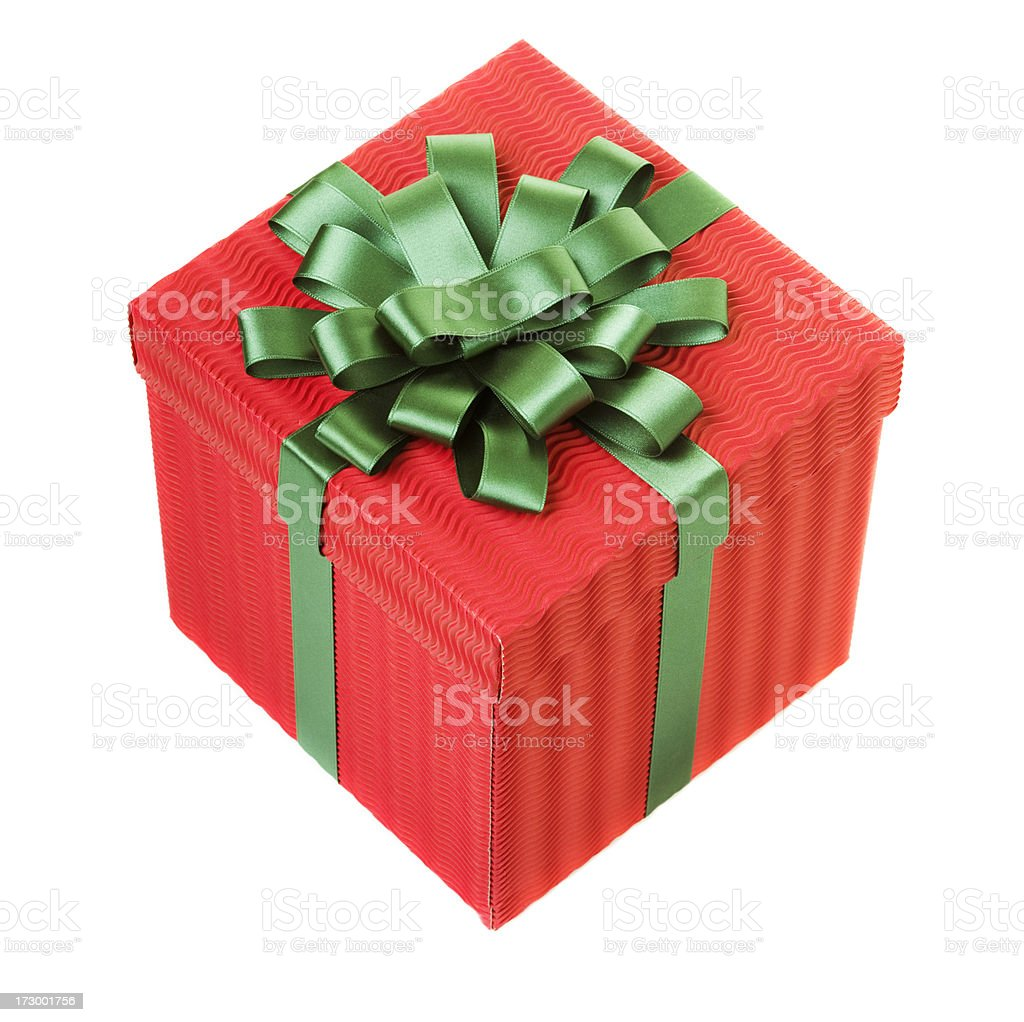 Present (XXL) royalty-free stock photo