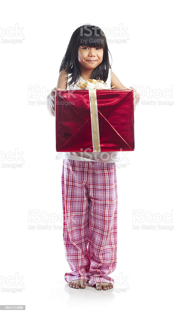 Present! royalty-free stock photo