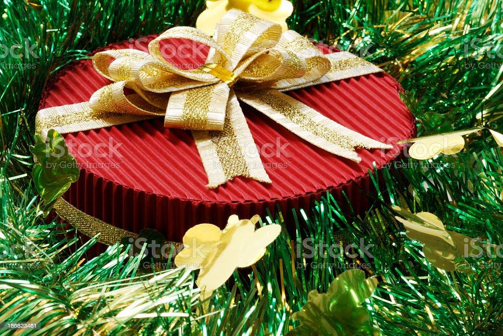 Geschenk mit Schleife Lizenzfreies stock-foto