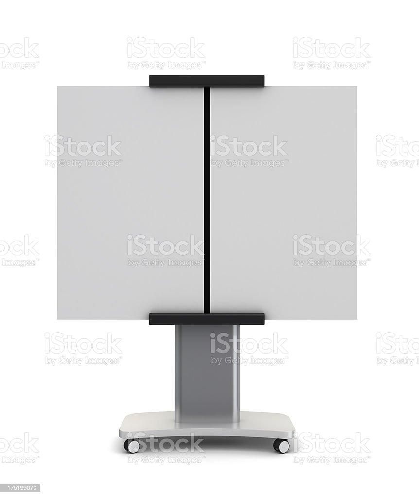presentation board stock photo