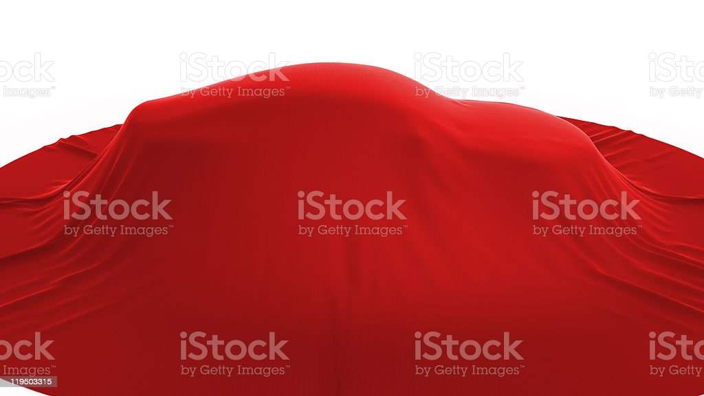 Presentation of new vehicle. Side view royalty-free stock photo
