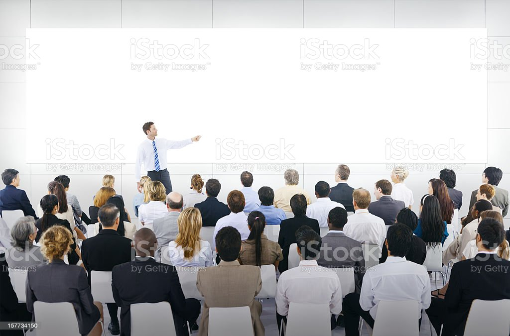 Presentation royalty-free stock photo
