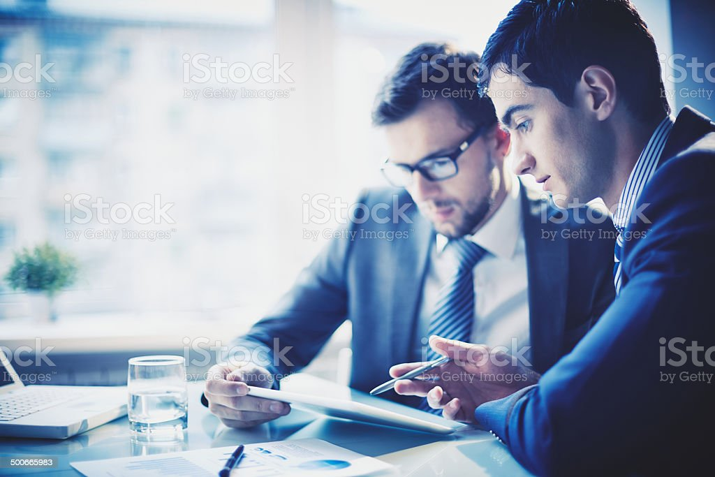 Presentation stock photo