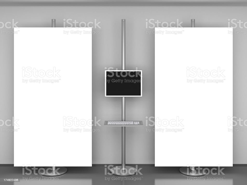 presentation point stock photo