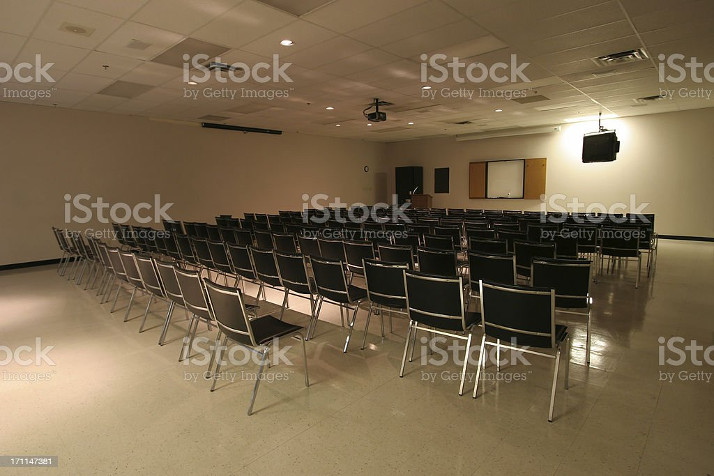 Presentation Room royalty-free stock photo