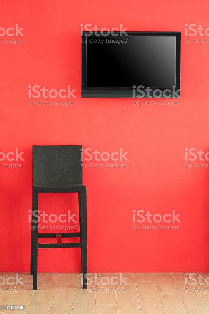 presentation stage stock photo