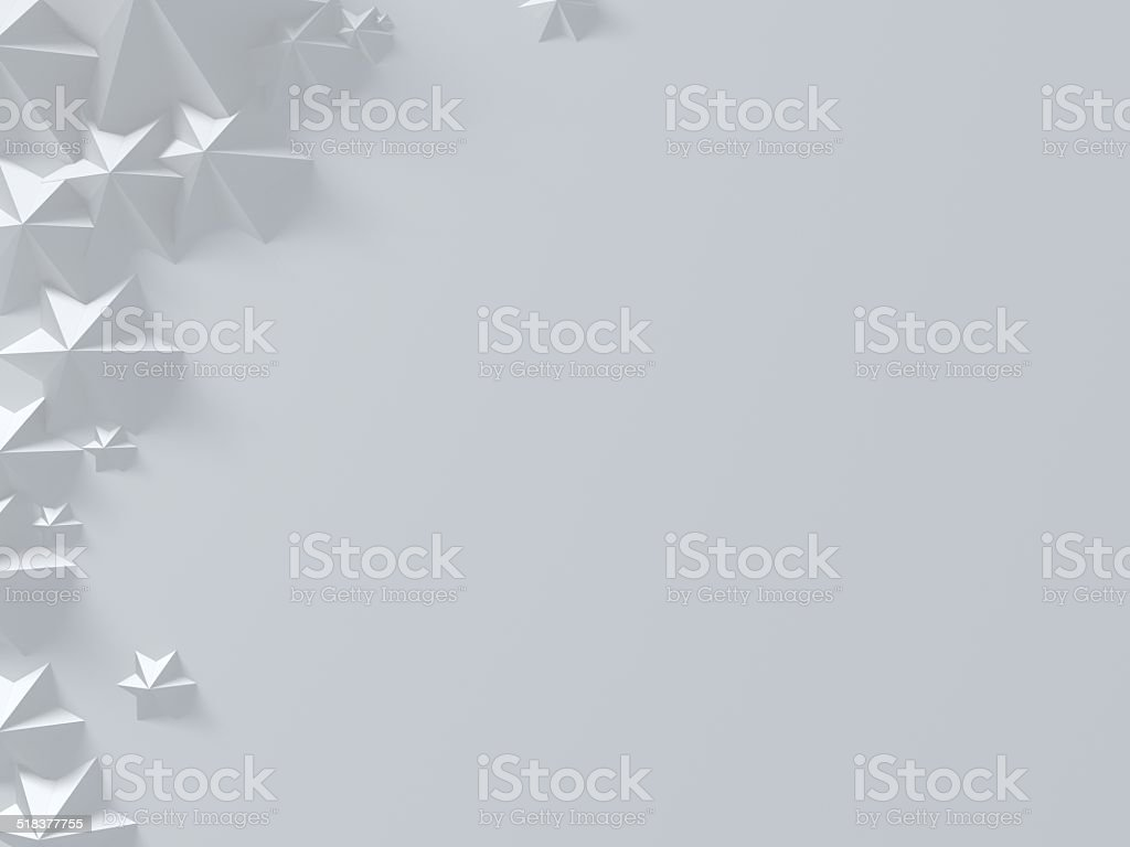 Presentation star template. stock photo
