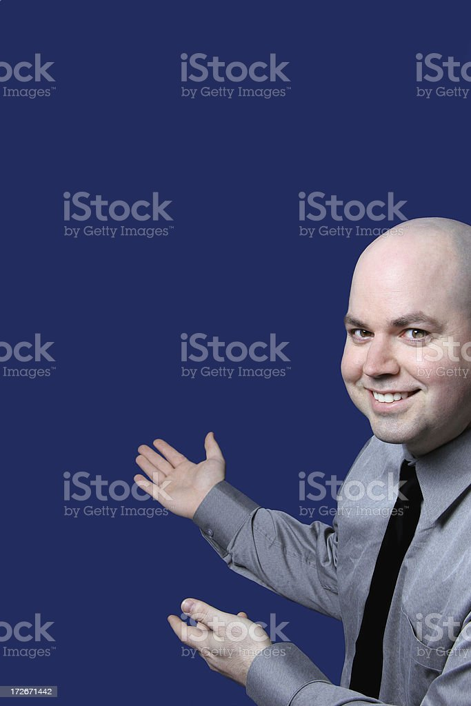 Presenting... royalty-free stock photo
