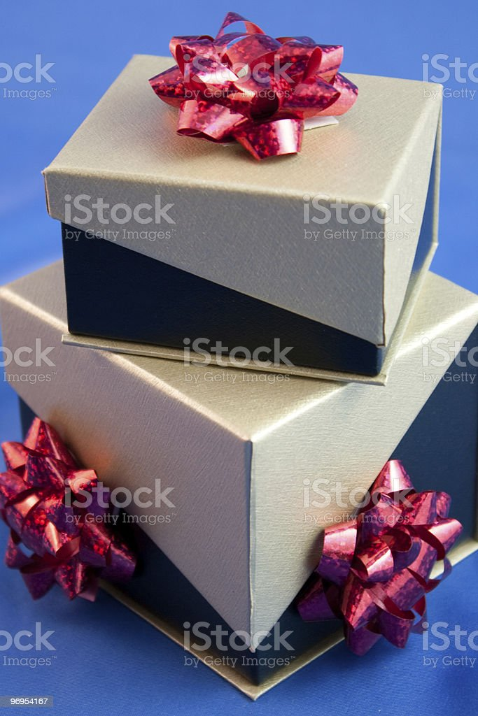 Presents and Bows stock photo