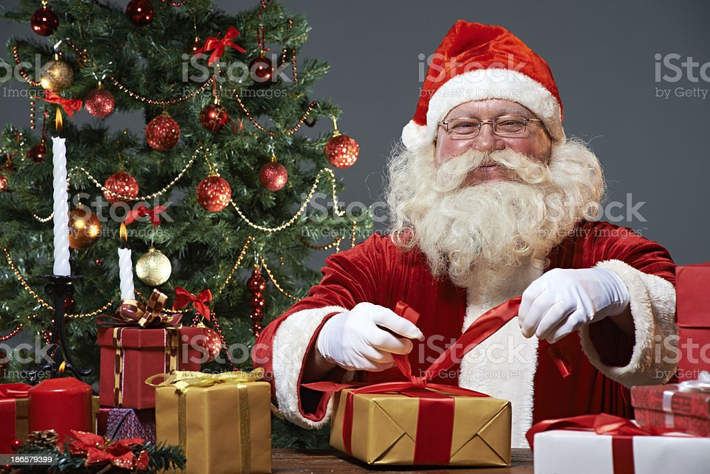 Presents for lovely kids royalty-free stock photo