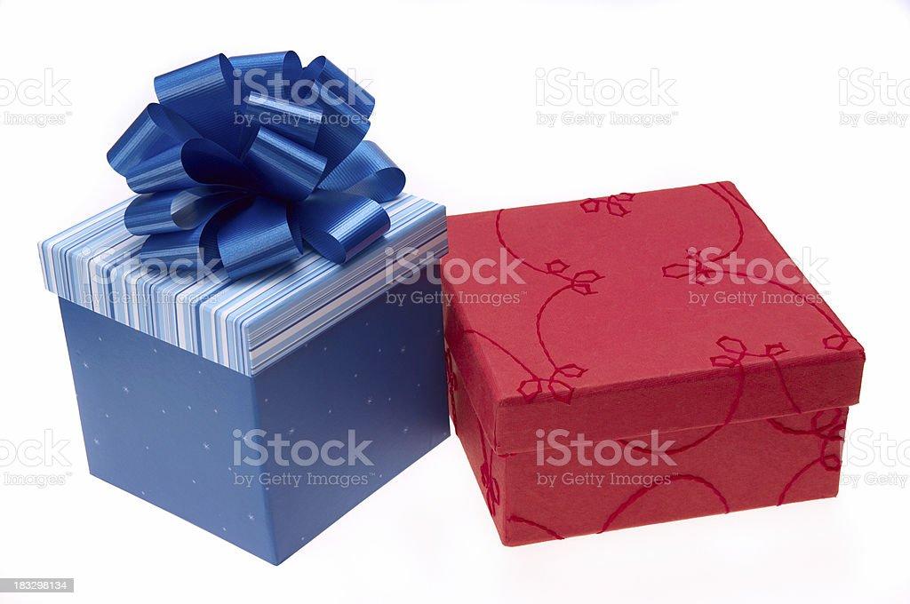 PresentsFour royalty-free stock photo
