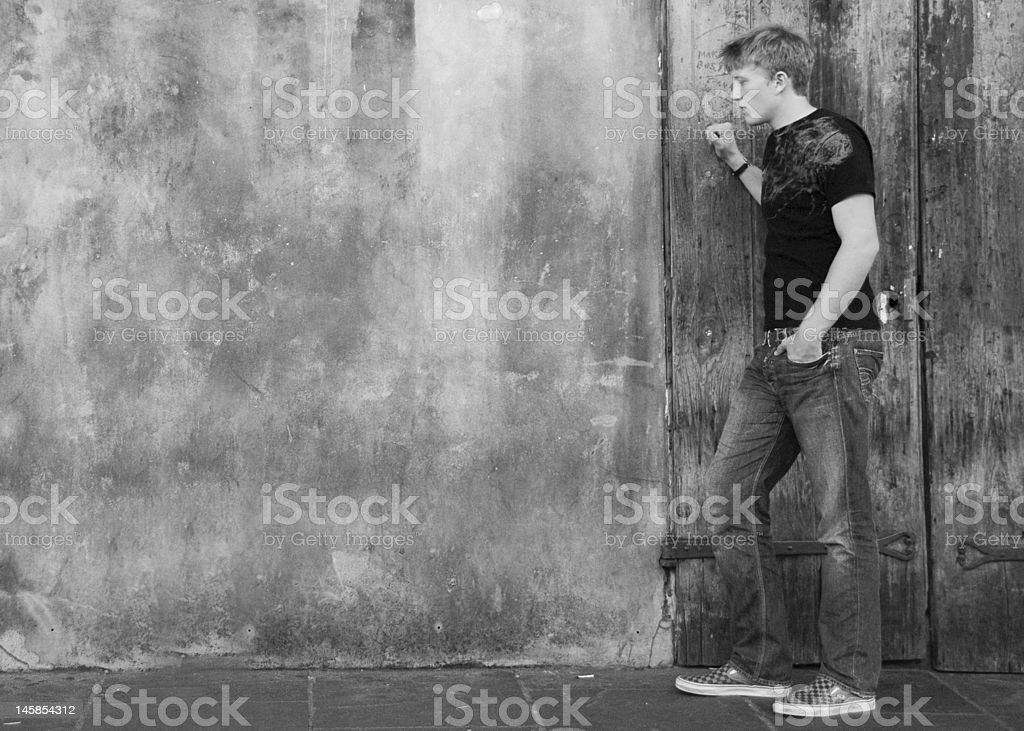 Preservation Hall royalty-free stock photo