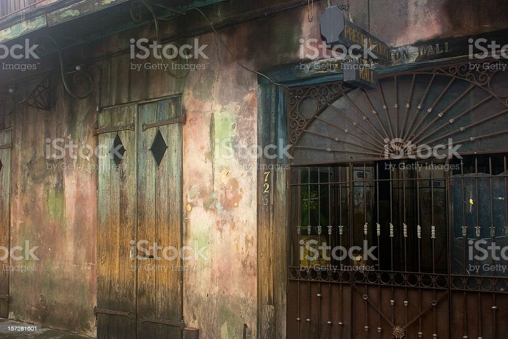 Preservation Hall stock photo