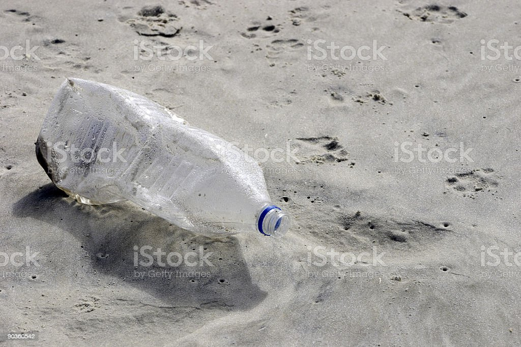 Preserve the beach stock photo
