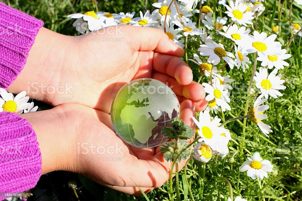 Preserve the planet royalty-free stock photo