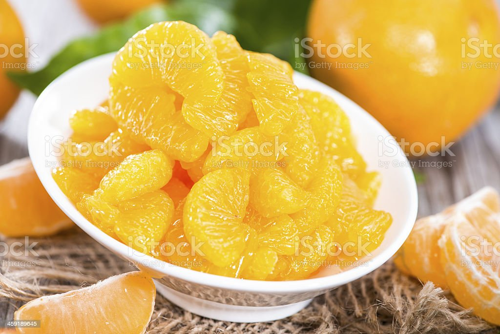 Preserved Fruits (Tangerines) stock photo