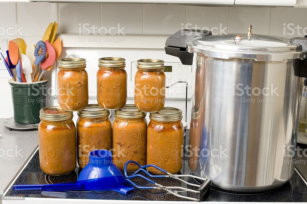 Preserving Food stock photo