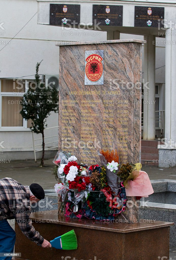 Presevo monument royalty-free stock photo