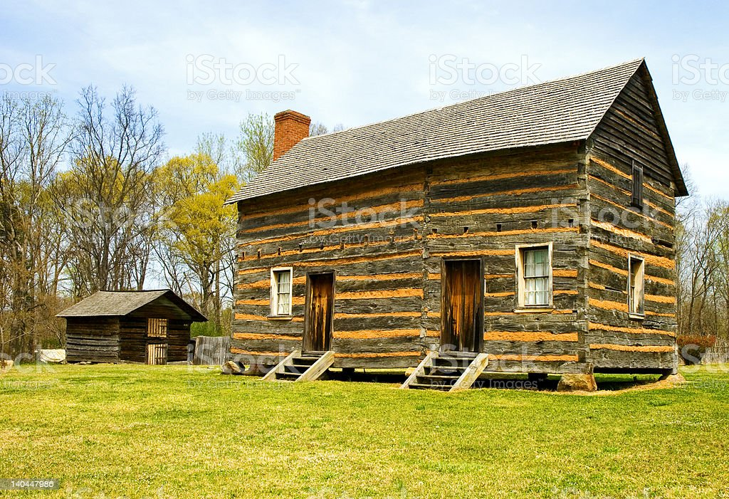 President James K. Polk Birthplace stock photo