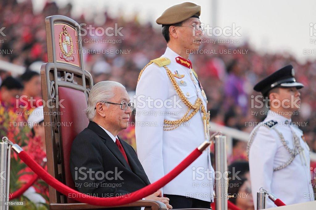 President Of Singapore royalty-free stock photo