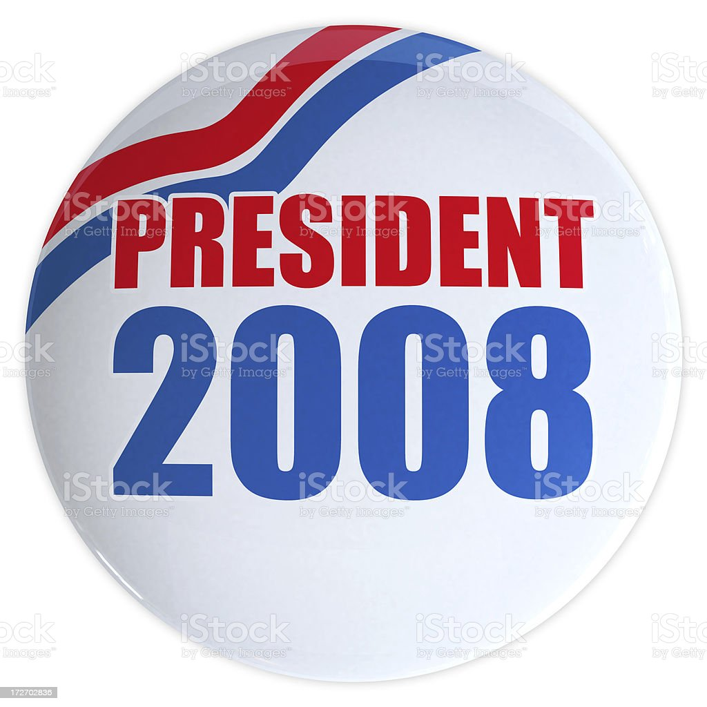 3D President USA 2008 royalty-free stock photo