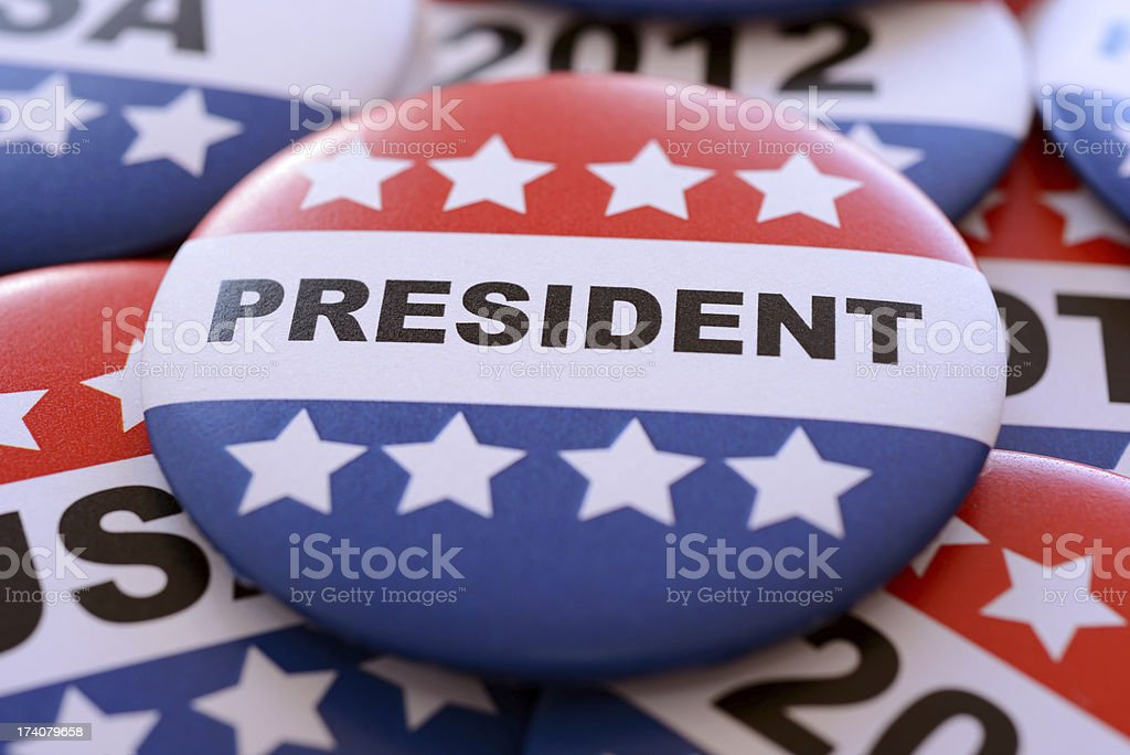 Presidential Election 2012 royalty-free stock photo