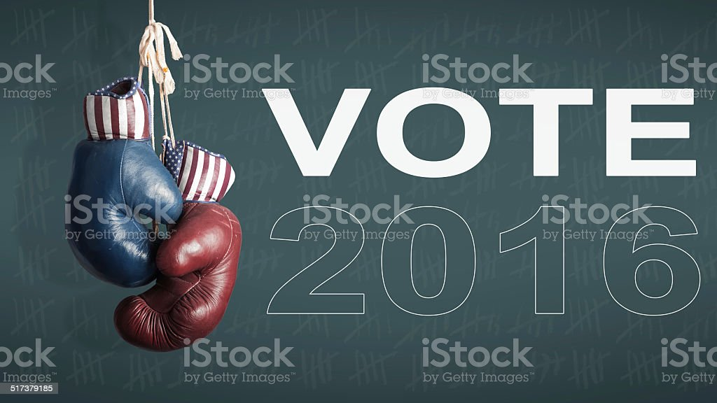 presidential Election Day 2016 stock photo